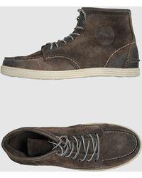 Preventi Hightop Dress Shoe - Lyst