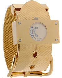 Balenciaga Montre Acier Gold Watch - Lyst