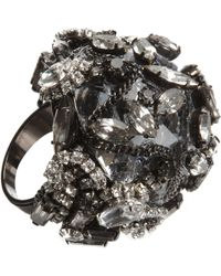 Erickson Beamon | Crystal Dome Ring | Lyst
