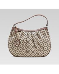Gucci - Sukey Medium Hobo with Detachable Interlocking G Charm - Lyst