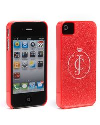 Juicy Couture Iphone 4 4s Case - Lyst