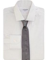Thom Browne Check Dress Shirt - Lyst
