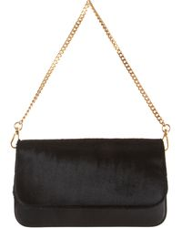 Barneys New York Ponyhair Evening Bag - Lyst
