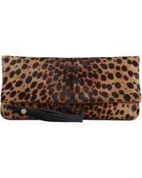Barneys New York Ponyhair Elan Clutch - Lyst