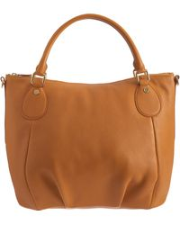Barneys New York Top Zip Shoulder Bag - Lyst