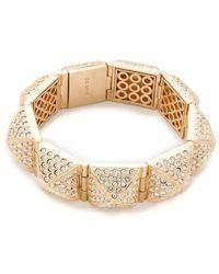 CC SKYE Stud Hinged Bracelet - Lyst