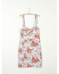 Free People Printed French Terry Slip - Lyst