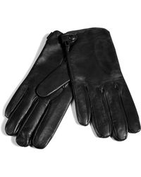 Jil Sander - Black Leather Gloves - Lyst