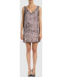 Preen By Thornton Bregazzi Short Dress - Lyst
