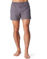 Warriors Of Radness - Back Logo Swim Shorts - Lyst