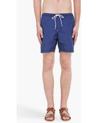 G-Star RAW - Blue Clipper Swim Shorts - Lyst