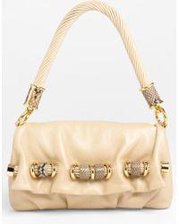 Michael Kors Tonne Leather Shoulder Bag - Lyst