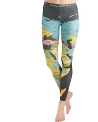 ModCloth Mapped Crusader Leggings - Lyst