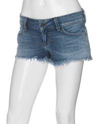 Siwy - Camilla Cut Off Shorts Light Wash - Lyst