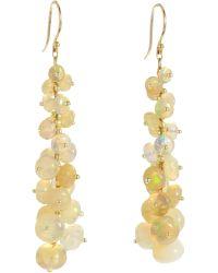 Ten Thousand Things - Ethiopian Opal Long Tapered Bead Earrings - Lyst