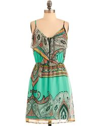 ModCloth Paisley Your Own Way Dress - Lyst
