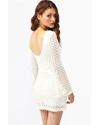 Nasty Gal Jane Crochet Dress - Lyst