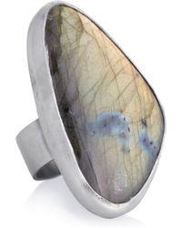 Chan Luu - Silver Labradorite Ring - Lyst