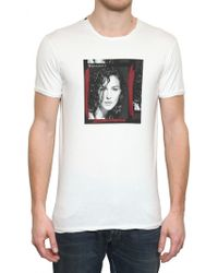 Dolce & Gabbana Monica Bellucci Jersey Tshirt - Lyst