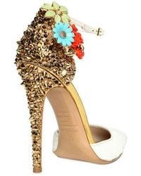 DSquared² 110mm Lalique Studs and Flower Pumps - Lyst
