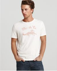 John Varvatos Star Usa What The Fox Graphic Tee - Lyst