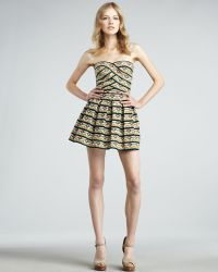 Pleasure Doing Business | South Western Print Pleated Dress Stylist Pick | Lyst