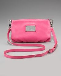 Marc By Marc Jacobs Classic Q Percy Crossbody pink - Lyst