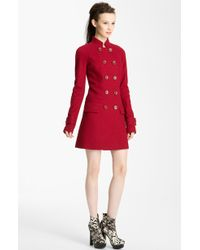 Rachel Zoe Double Breasted Raglan Coat - Lyst