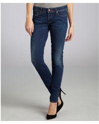 Genetic Denim Dark Sunset Stretch Denim The Shya Skinny Jeans - Lyst
