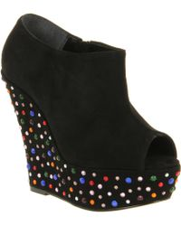 Office Birthday Suit Wedges - Lyst