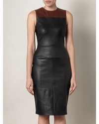 A.L.C. Mika Leather Dress - Lyst