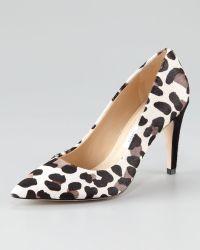 Diane von Furstenberg Anette Leopardprint Calf Hair Pump - Lyst