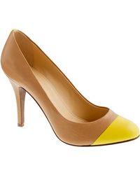 J.Crew Mona Colorblock Pumps - Lyst