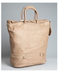 See By Chloé Camel Leather Large Convertible Tote - Lyst