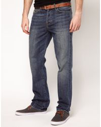 7 For All Mankind Standard Straight Jeans - Lyst