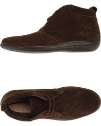 Geox Hightop Dress Shoe - Lyst