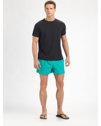 HUGO - Lobster Swim Trunks - Lyst