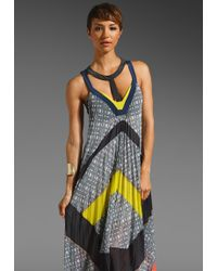BCBGMAXAZRIA Runway Maxi Dress - Lyst
