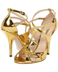 Bottega Veneta High Heels Sandals - Lyst
