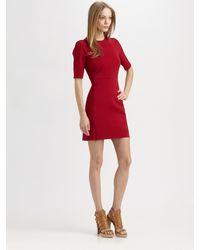 Diane von Furstenberg Oka Mini Jersey Dress - Lyst
