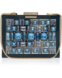 Elie Saab Box Crystal Clutch Bag - Lyst