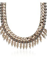 Mawi - Spike Crystal Collar - Lyst