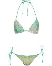 Missoni Mare Padded String Bikini - Lyst