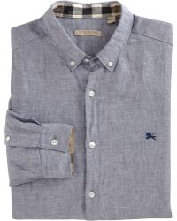Burberry Brit - Chambray Sport Shirt - Lyst