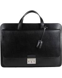 Calvin Klein Black Briefcase - Lyst