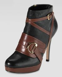 Cole Haan Carolyn Strappy Ankle Boot - Lyst