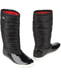 2f027096dbc782 Lyst - Women s Lacoste Boots Online Sale