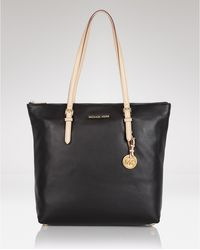 Michael Kors Michael Tote Large North South Leather - Lyst