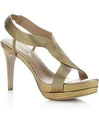 Elie Tahari - Franca Leather Sandal - Lyst