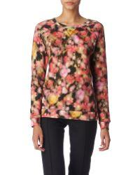 Mulberry Blurry Blossom Sweatshirt multicolor - Lyst